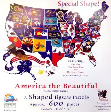 Puzzle 3 : America (forme) - 1